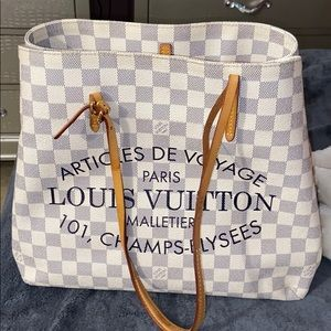 Louis Vuitton damier limited edition bag